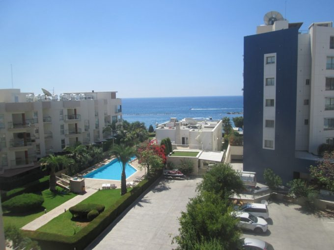 2 Bedroom Potamos Germasoyia – on the Beach with Sea View