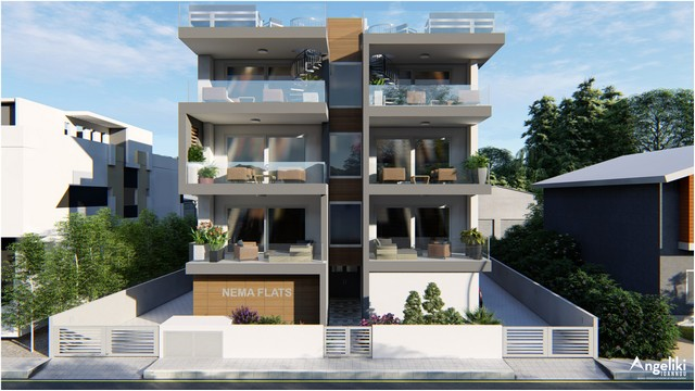 2 Bedroom Ekali in Small Building of only 7 Apartments