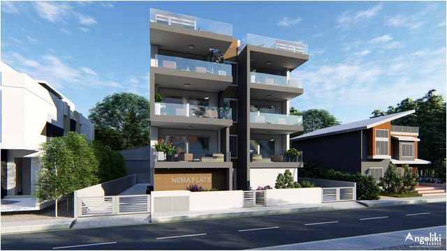 2 Bedroom Apartment in Ekali – Small building with only 7 apartments