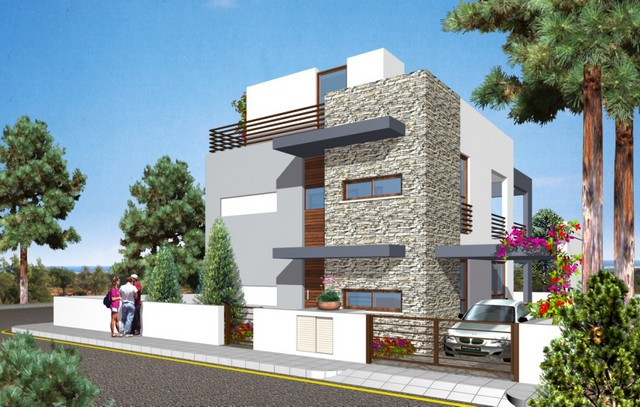 Lovely 3 Bedroom Villas with Pools Souni