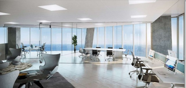 Luxury Last Floor Offices on the Sea Front