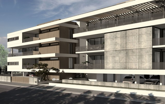 Three Bedroom Penthouse Limassol Center with huge Veranda and Roof Garden- Nearing Completion