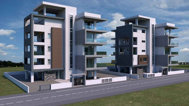 Building with 7 Apartments – In most upcoming Area of Limassol