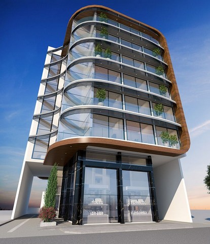 Commercial Building Six Stories Limassols Sea Front