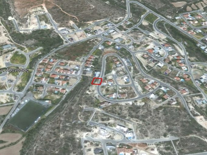 Plot for sale in Agios Athanasios