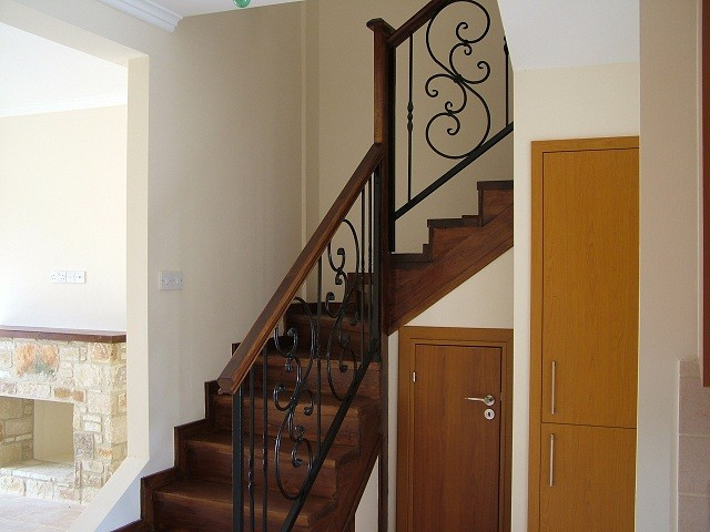Staircase with storage space