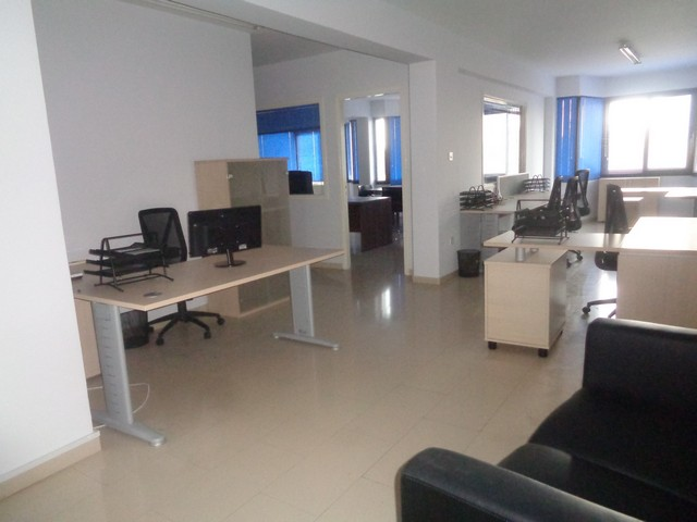 Furnished Office 130m2 in Limassols Center
