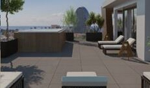 Whole Floor Penthouse with Roof Garden Just 250m2 to the Sea