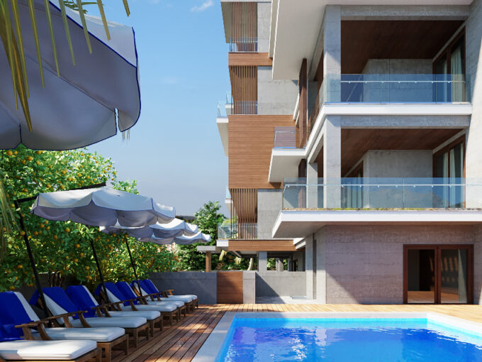 One Bedroom Just across the Sea (Luxury Complex)